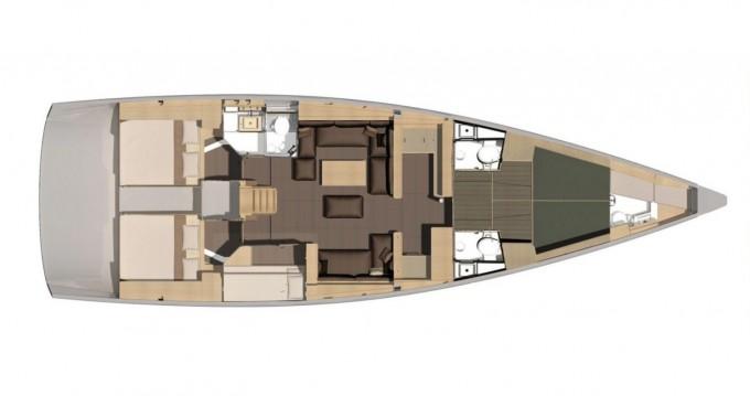 Rental yacht Porto Rotondo - Dufour Dufour 56 Exclusive 2021 on SamBoat