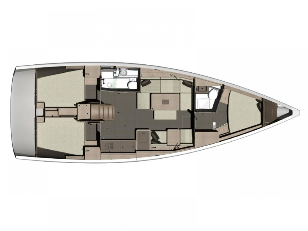 Rental yacht Olbia - Dufour Dufour 412 Grand Large on SamBoat