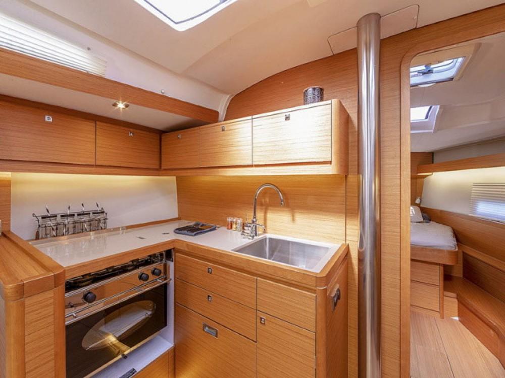 Boat rental Olbia cheap Dufour 430
