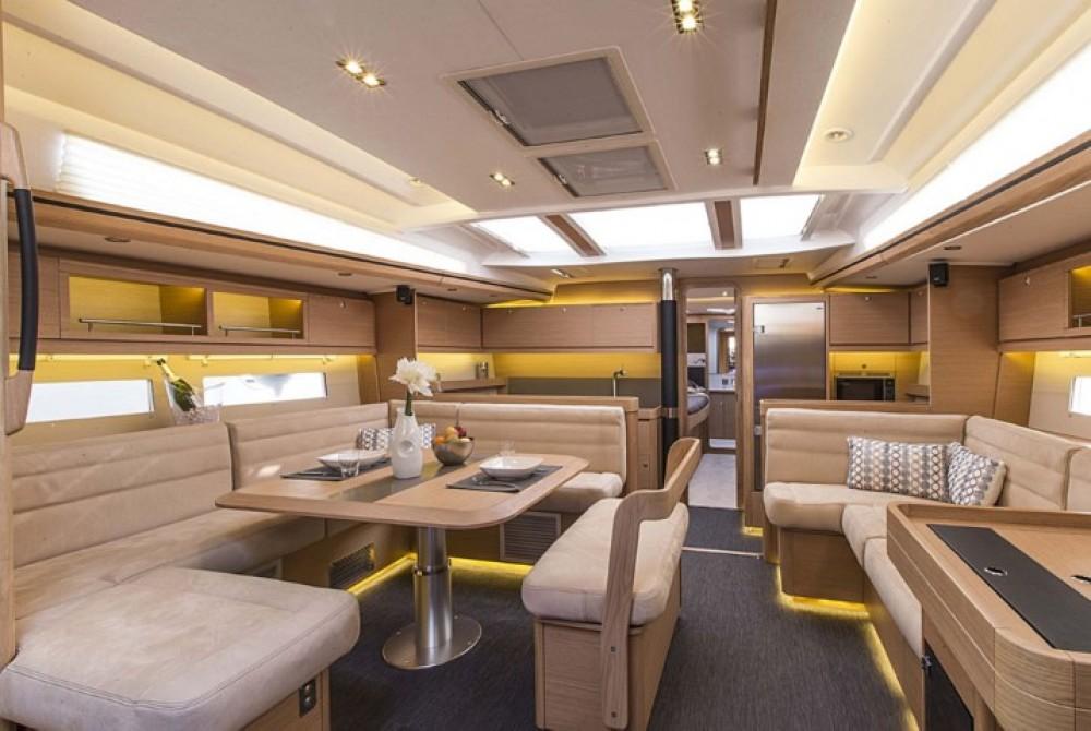 Rental yacht Olbia - Dufour Dufour 560 on SamBoat