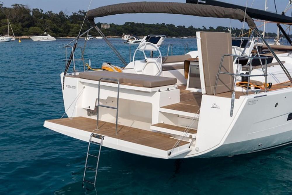 Boat rental Olbia cheap Dufour 560