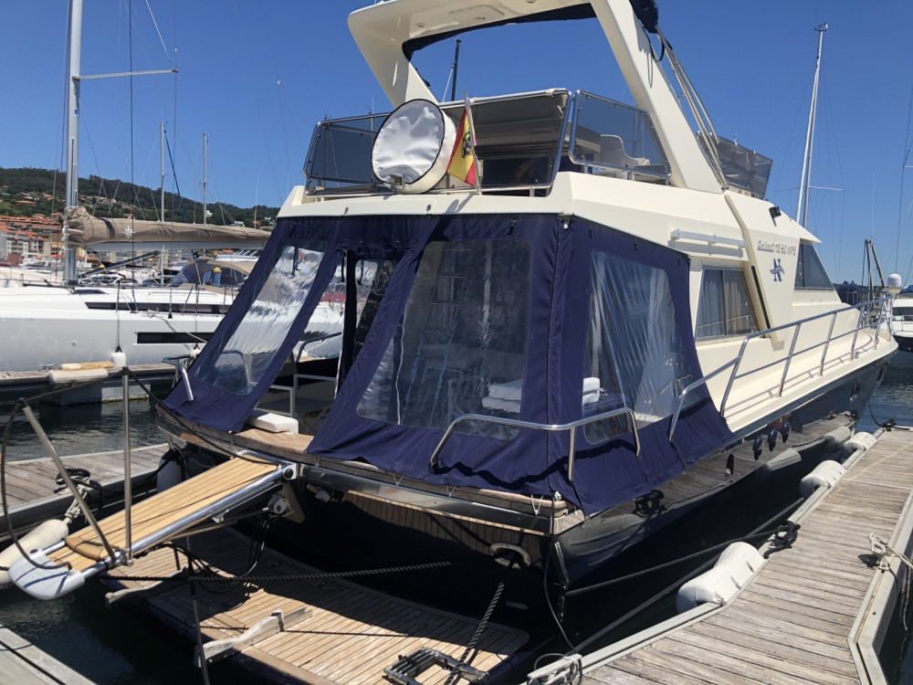 Hire Motorboat with or without skipper Gallart Galicia