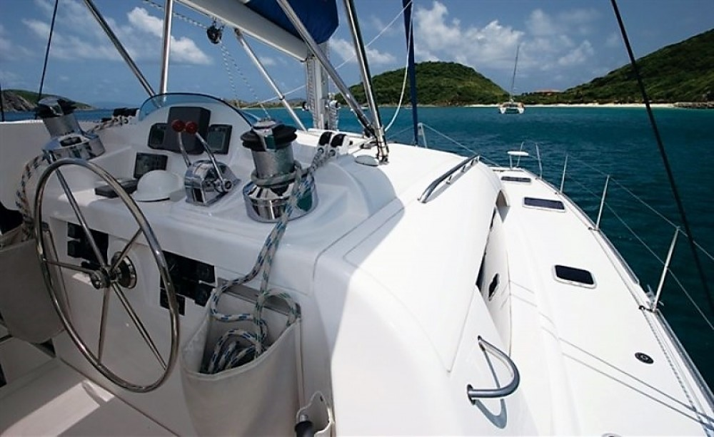Rorbertson-Caine Leopard 46 between personal and professional Airlie Beach