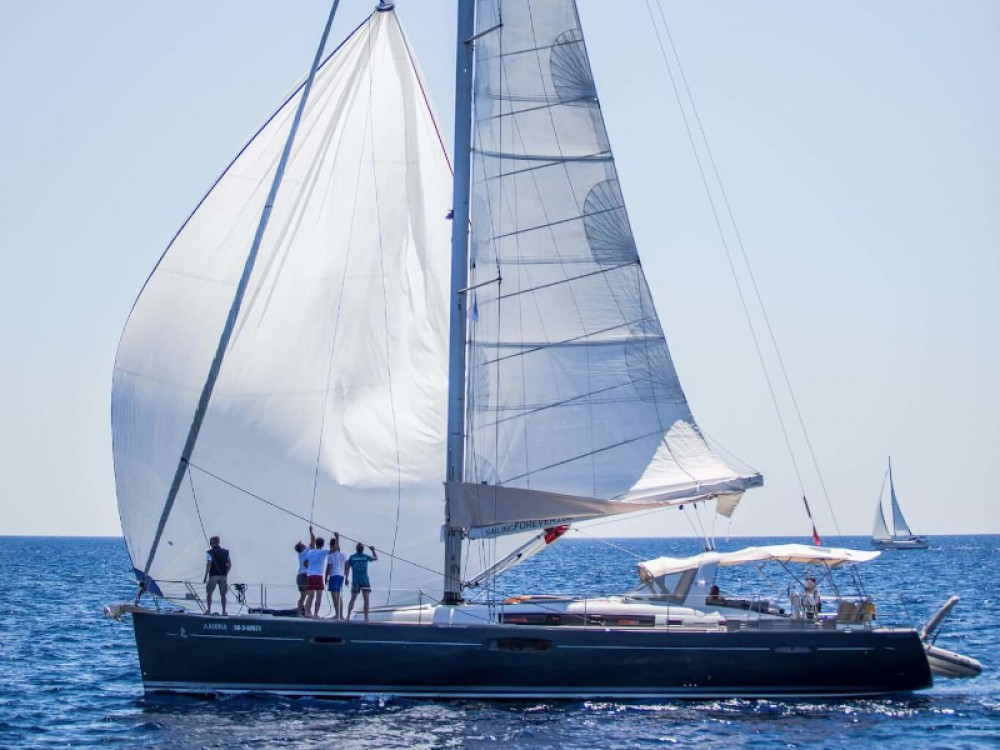 Rental Sailboat in Seget Donji - Bénéteau Oceanis 58