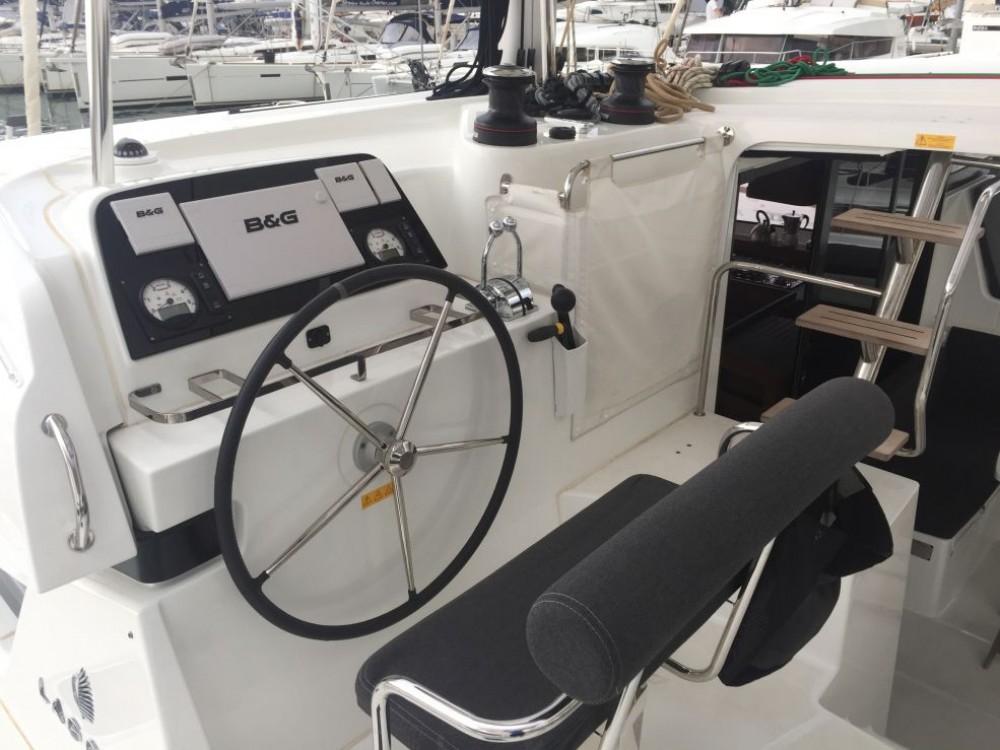 Boat rental Furnari cheap Lagoon 42