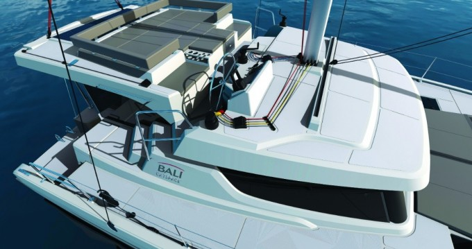 Bali Catamarans Bali Catspace Voile between personal and professional Roses