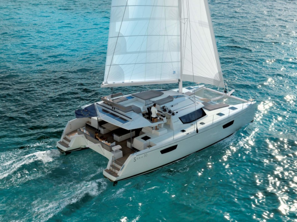 Rent a Fountaine Pajot Saba 50 Seget Donji