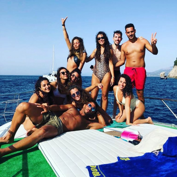 Conam Lupo di mare 35 between personal and professional Anacapri