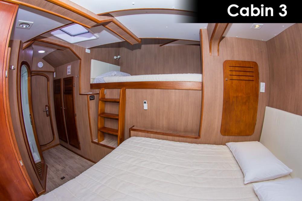 Catamaran for rent Galápagos at the best price