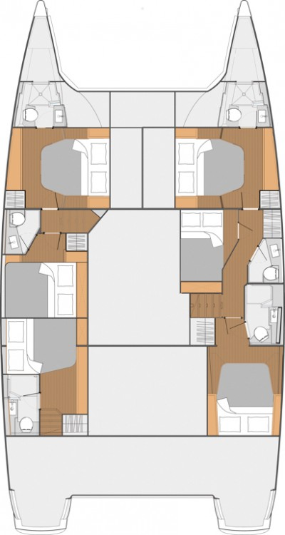 Fountaine Pajot Fountaine Pajot Saba 50 - 6 + 1 cab. between personal and professional
