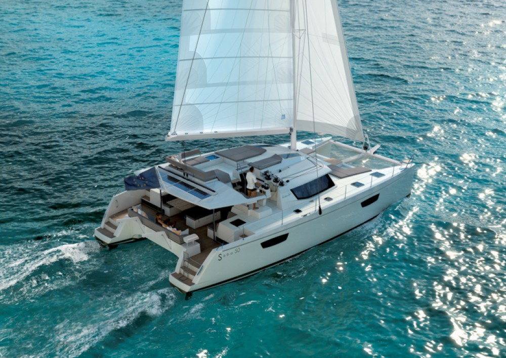 Boat rental Fountaine Pajot Fountaine Pajot Saba 50 - 6 + 1 cab. in  on Samboat