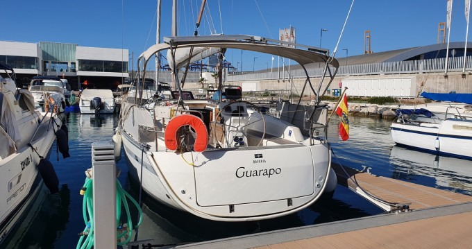 Hire Sailboat with or without skipper Bavaria Málaga