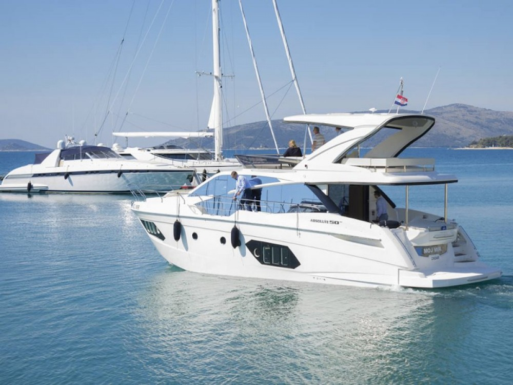 Boat rental Seget Donji cheap Absolute 50 Fly