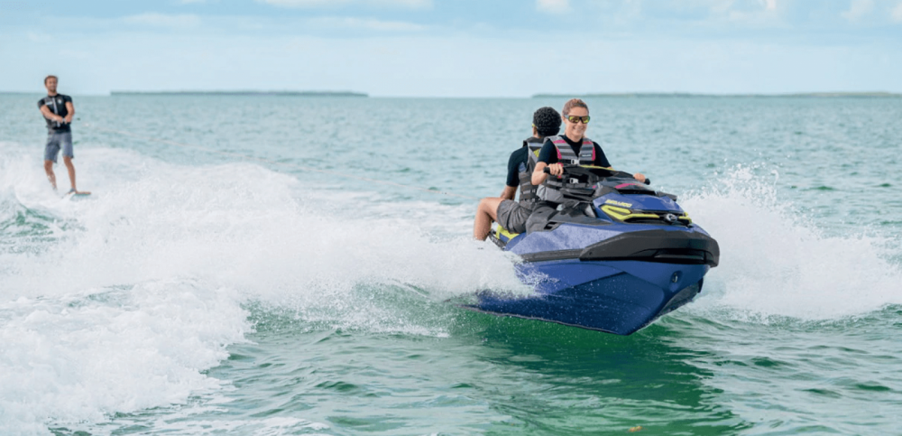Rental Jet Ski Seadoo with a permit
