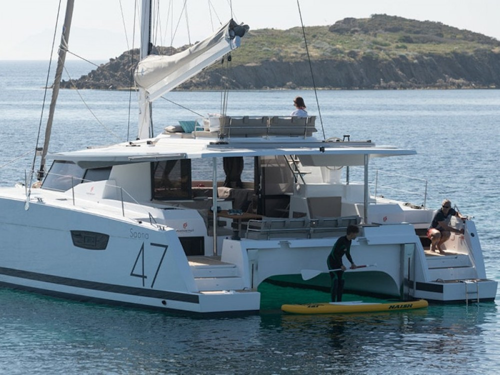 Hire Catamaran with or without skipper Fountaine Pajot Kaštel Gomilica