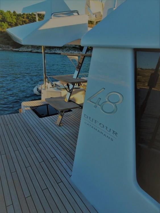 Boat rental Primošten cheap Dufour 48 Catamaran - 5 + 1 cab.
