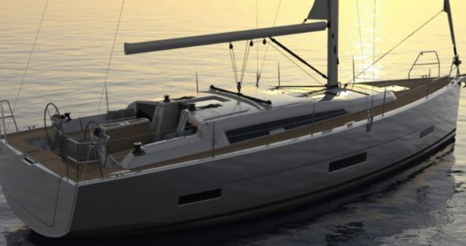 Boat rental Lefkas Marina cheap Dufour 390 Grand Large