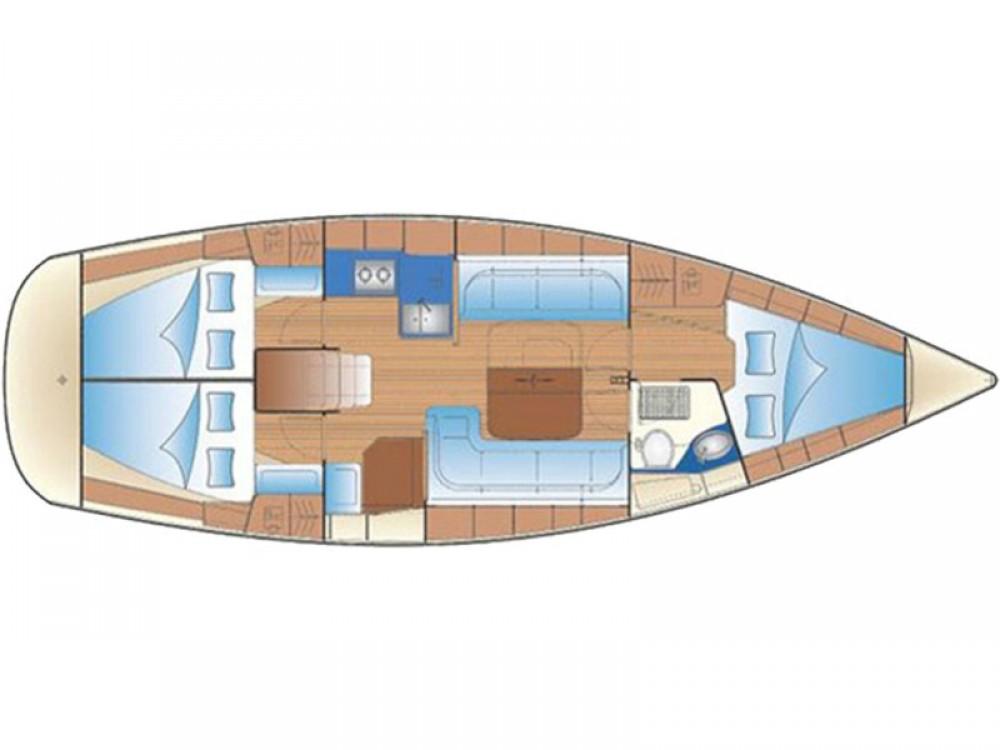 Boat rental Lefkada cheap Bavaria 37 Cruiser