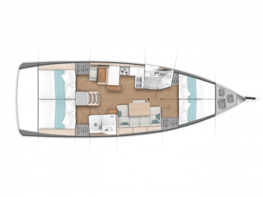 Boat rental Pula cheap Sun Odyssey 440 / 4 cabins