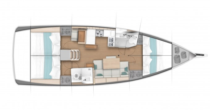 Hire Sailboat with or without skipper Jeanneau Veruda