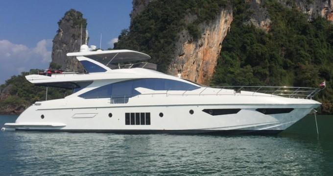 Boat rental Phuket cheap Azimut 80