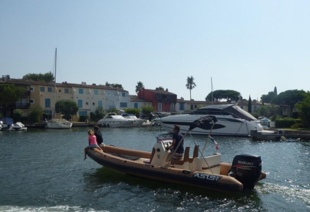 Boat rental Grimaud cheap 7.2 OPEN