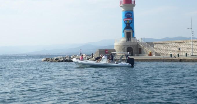 Boat rental Port Grimaud cheap 7.2 OPEN