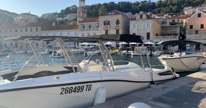 Hire Motorboat with or without skipper Mercan Split