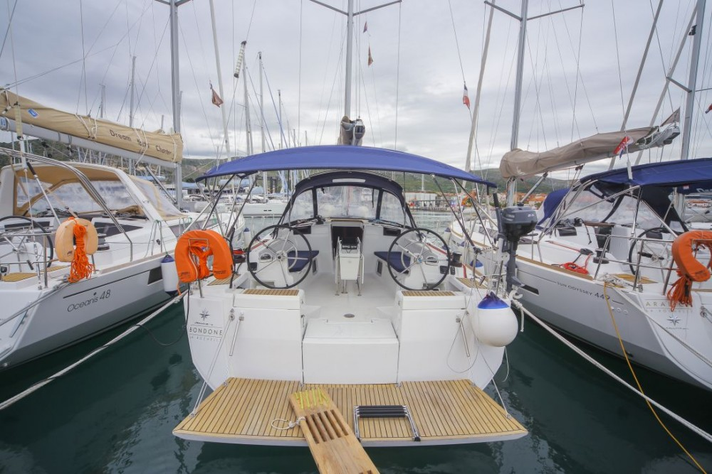Rental Sailboat in Dubrovnik - Jeanneau Sun Odyssey 449