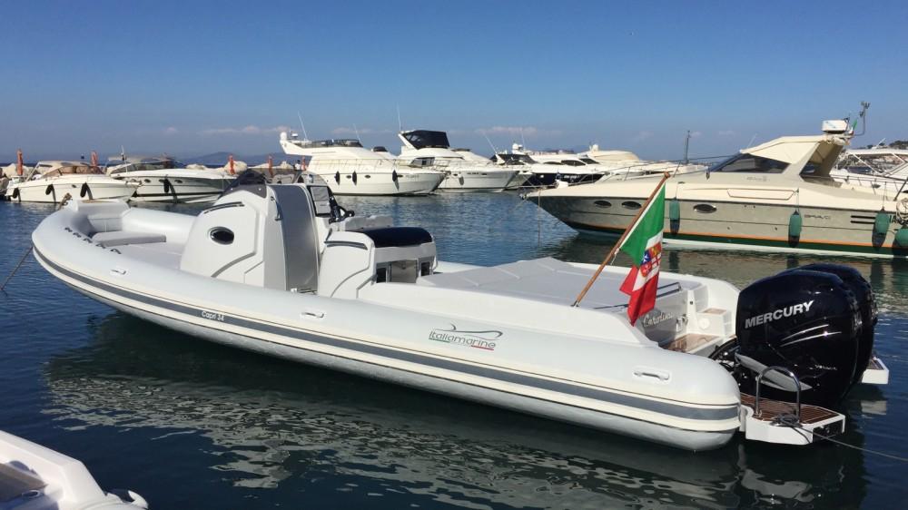 Rental RIB in San Felice Circeo - Italiamarine Capri 34