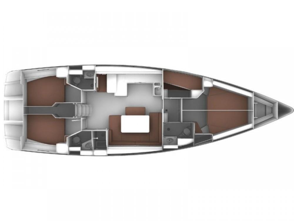 Rental yacht Kontokali - Bavaria Bavaria Cruiser 51 on SamBoat