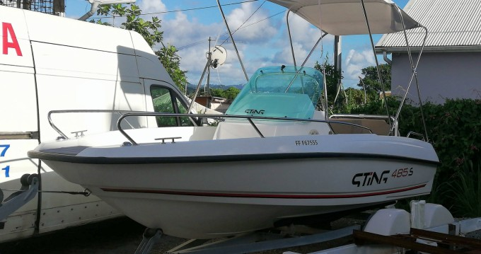 Boat rental Le Robert cheap 485S