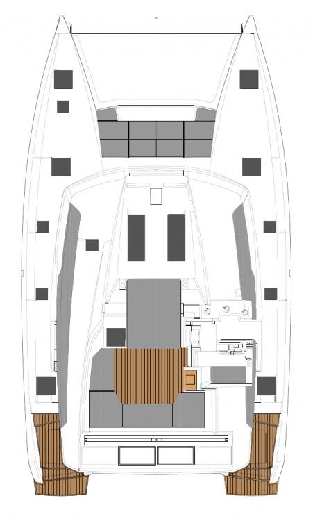 Boat rental Peloponnese cheap Fountaine Pajot Elba 45 - 4 + 2 cab.
