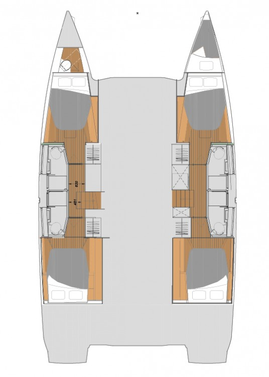 Rental yacht Peloponnese - Fountaine Pajot Fountaine Pajot Elba 45 - 4 + 2 cab. on SamBoat