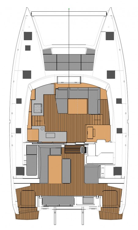 Fountaine Pajot Fountaine Pajot Elba 45 - 4 + 2 cab. between personal and professional Peloponnese