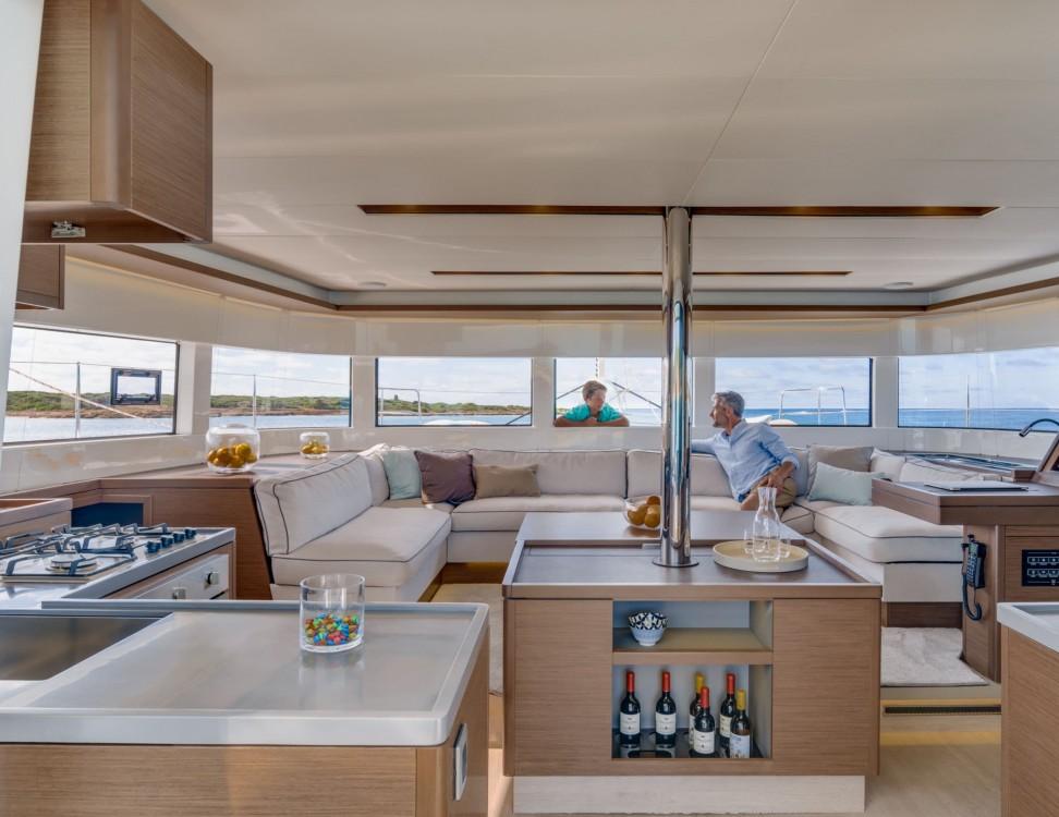 Boat rental Capo d'Orlando cheap Lagoon 50