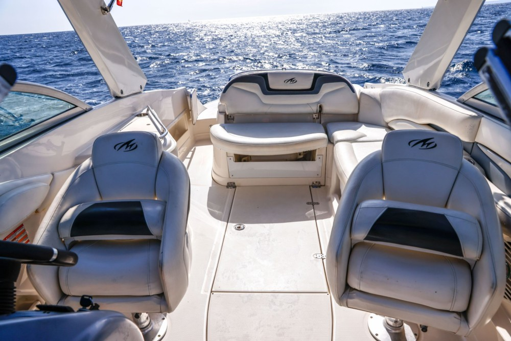 Monterey 278 SS between personal and professional Ibiza