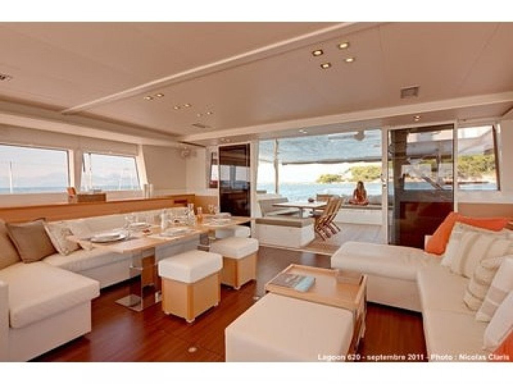 Catamaran for rent Capo d'Orlando at the best price