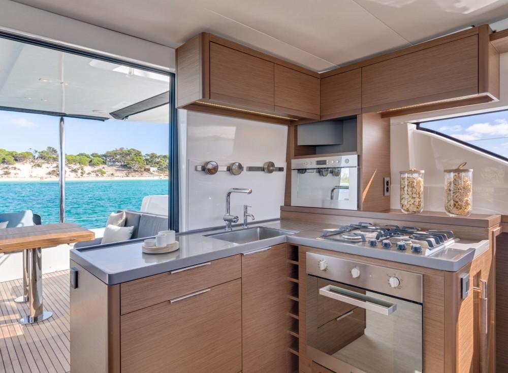 Catamaran for rent Capo d'Orlando at the best price