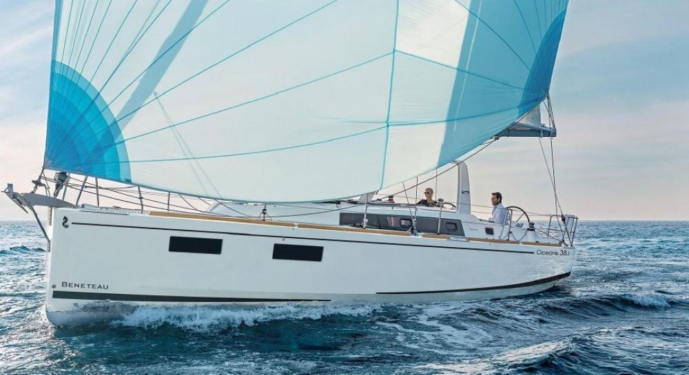 Rental Sailboat in Grad Pula - Bénéteau Oceanis 381