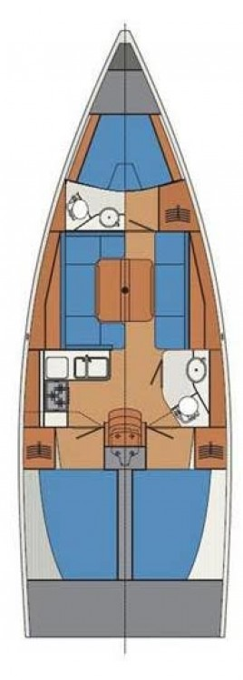 Boat rental Croatia cheap Cobra 38