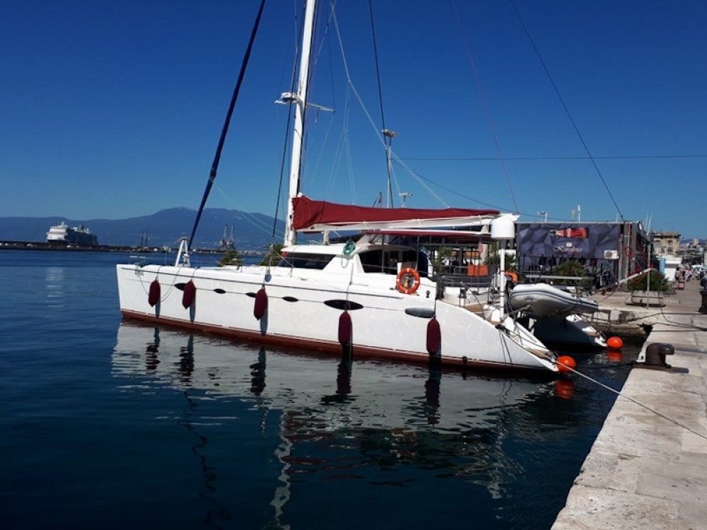 Fountaine Pajot Eleuthera 60 between personal and professional