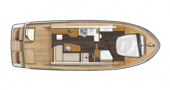 Boat rental Linssen Linssen Grand Sturdy 30.0 Sedan in Kinrooi on Samboat