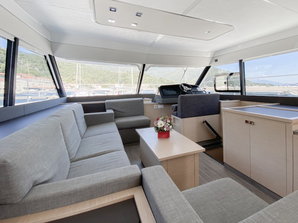 Boat rental Fountaine Pajot MY40 in  on Samboat