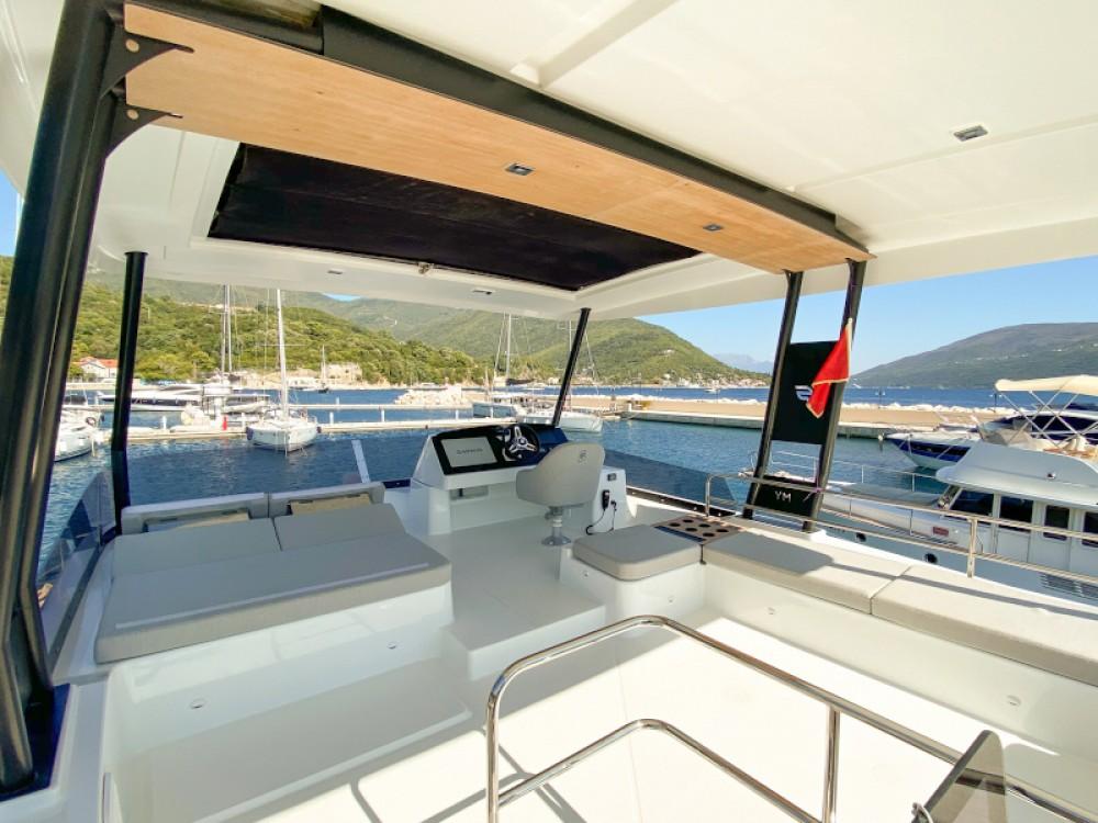 Rental Catamaran in  - Fountaine Pajot MY40
