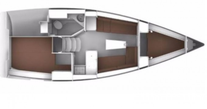 Boat rental Sukošan cheap Cruiser 34