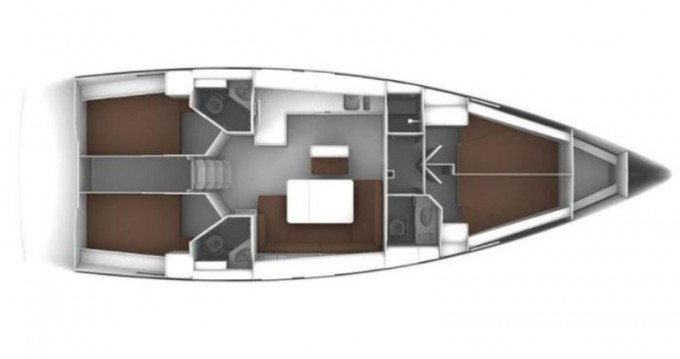 Bavaria Cruiser 46 between personal and professional Drage