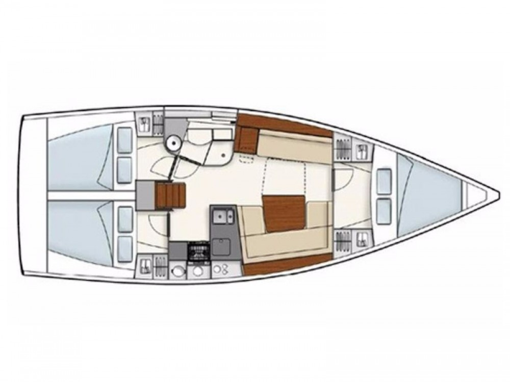 Boat rental Pirovac cheap Hanse 385