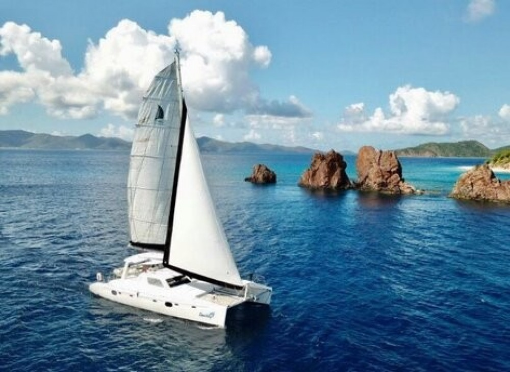 Rental Catamaran in Road Town - Voyage VOYAGE 480