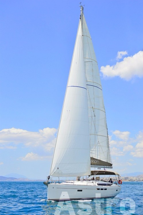 Jeanneau Sun Odyssey 509 between personal and professional Skiathos